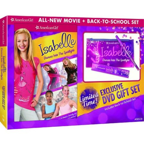 An American Girl: Isabelle Dances Into The Spotlight (DVD + Back-To-School Set) (Walmart Exclusive) (Anamorphic Widescreen)
