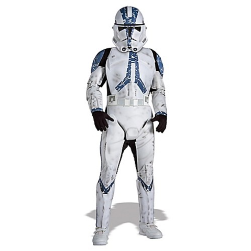 Star Wars Clone Trooper Deluxe Large Child's Halloween Costume
