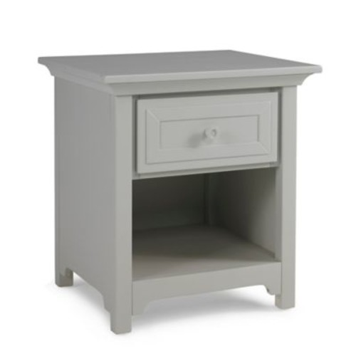 Ti Amo Nightstand in Misty Grey