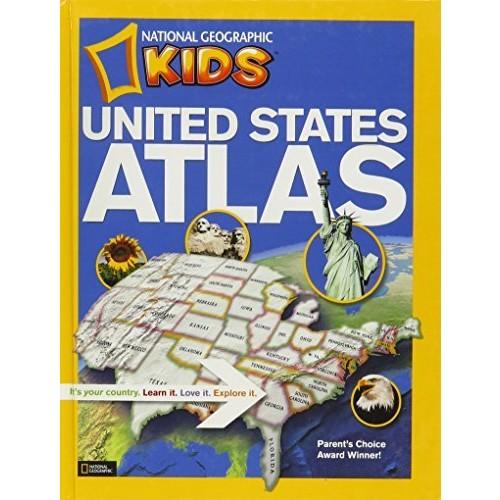 National Geographic Kids United States Atlas (Turtleback School & Library Binding Edition)