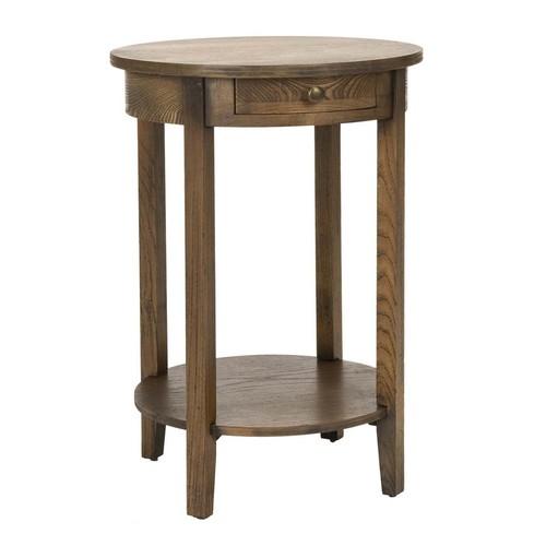 Safavieh Hanna End Table in Oak