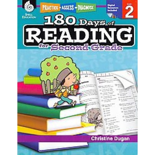 180 Days of Reading for Second Grade (Paperback) (Christine Dugan)