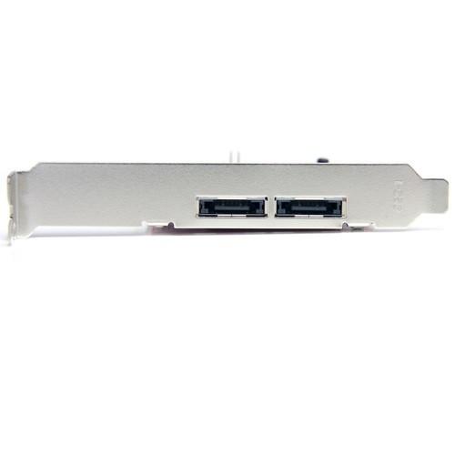 StarTech.com 2 Port PCI Express eSATA Controller Adapter Card PEXESATA2