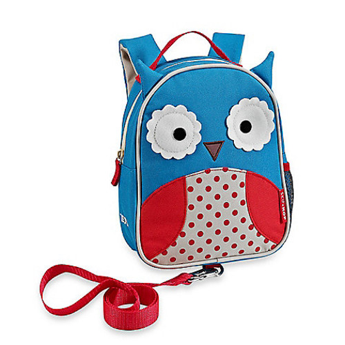 SKIP*HOP Zoo Owl Safety Harness / Mini Backpack with Rein
