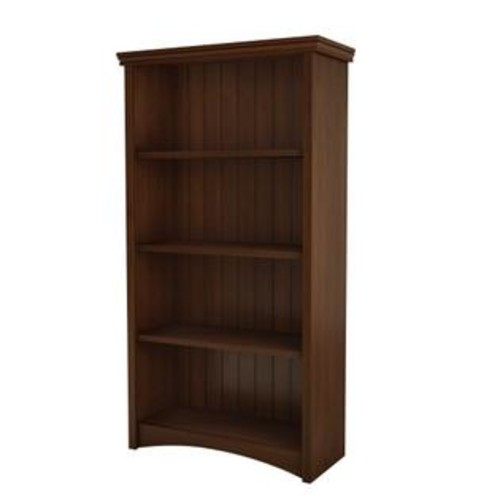 South Shore Furniture Gascony Collection Bookcase, Sumptuous Cherry