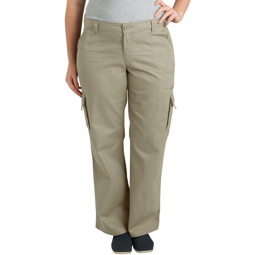 DICKIES Women's Relaxed Cargo Pant, Extended Sizes