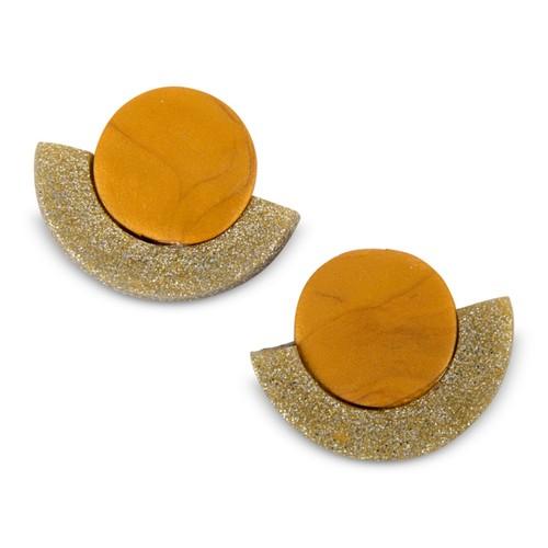 Kat Earrings - Sparkle