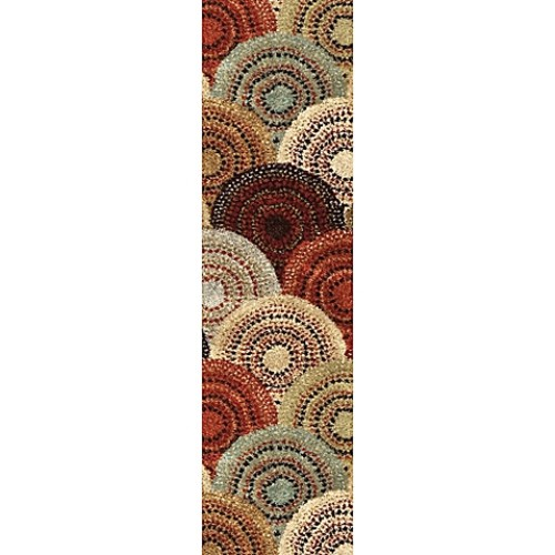Aria Rugs Wild Weave Parker 2-Foot 3-Inch x 8-Foot Multicolor Runner