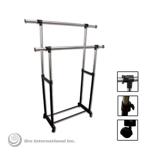 Ore Double Levers Clothes Rack