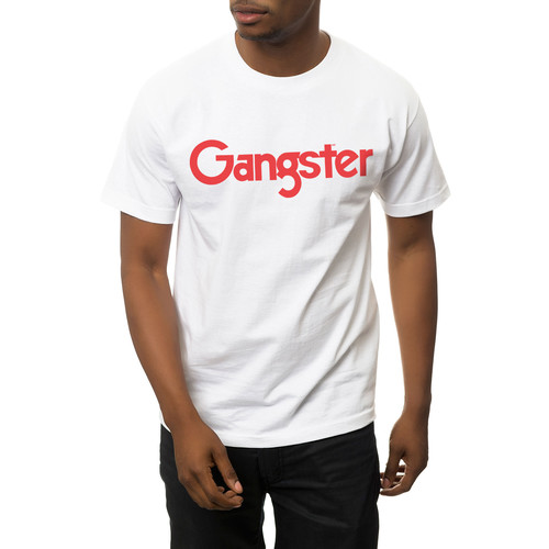 The Gangster MF Tee in White