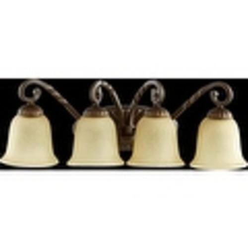 Quorum International 5078-4 Tribeca II 4 Light Bathroom Vanity Light