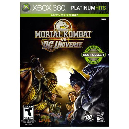 Mortal Kombat vs. DC Universe Platinum Hits - Xbox 360