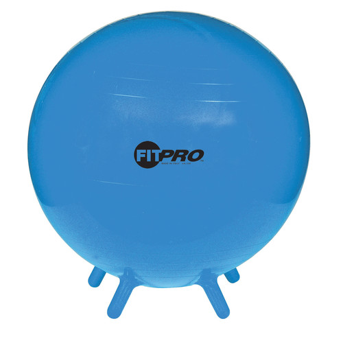 Champion Sports Fitpro Ball With Stability Legs, 55Cm