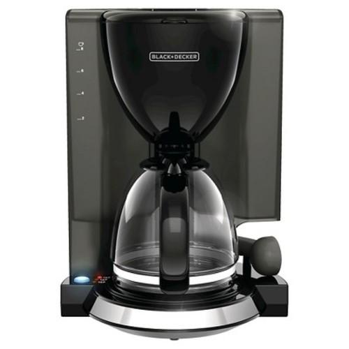 Black + DECKER Easy 8-Cup Coffee Maker