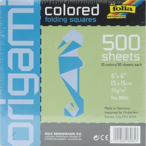 Global Art Folia Origami Colored Folding Squares