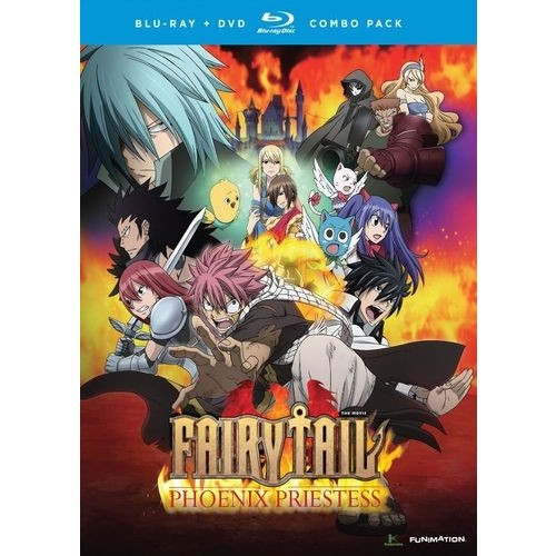 Fairy Tail: The Phoenix Priestess [2 Discs] [Blu-ray/DVD]