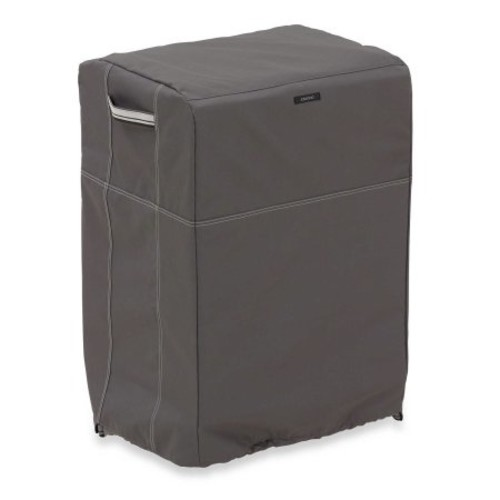 Classic Accessories Ravenna Square Smoker Cover in Dark Taupe