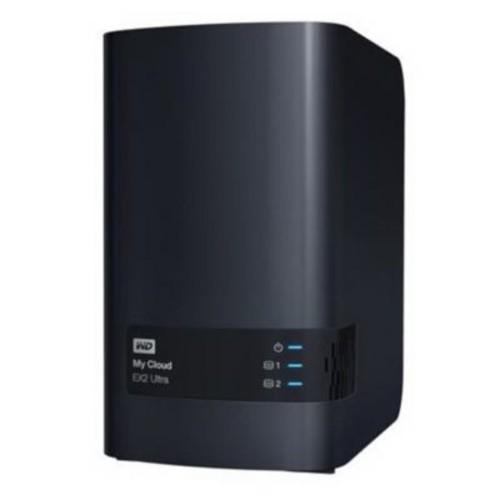 WD My Cloud Expert Series EX2 Ultra 1TB NAS Server (WDBVBZ0010JCH-NESN)