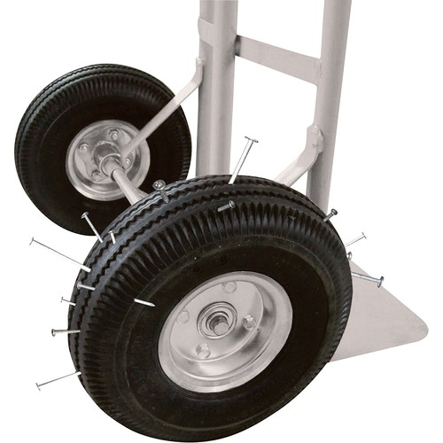 Roughneck Hand Truck - 600Lb. Capacity, Flat Free Tires