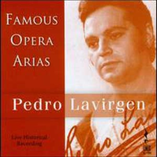 Famous Opera Arias By Pedro Lavirgen (Audio CD)