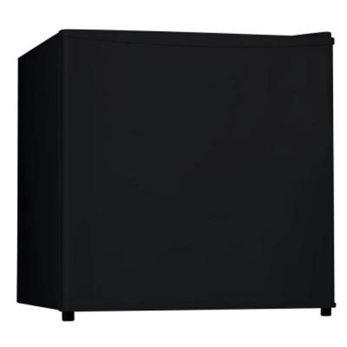 Midea 1.6 cu. ft. Single Door Mini Refrigerator in Black