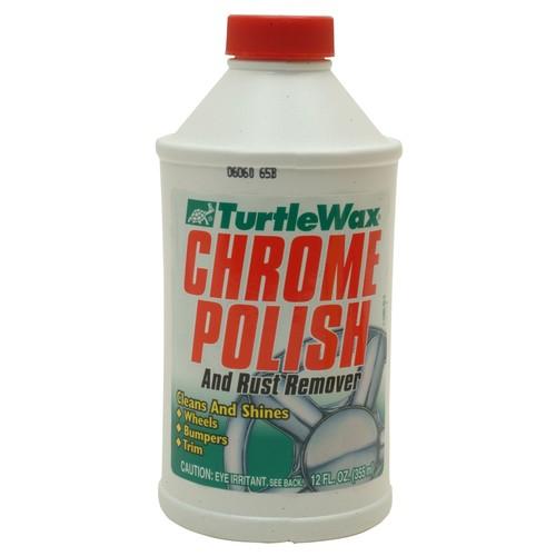 Turtle Wax CHROME POLISH 12 OZ