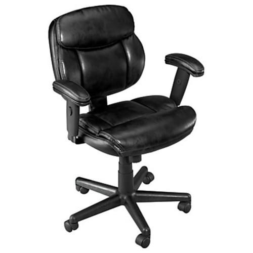 Brenton Studio Ariel Low-Back Task Chair, Black