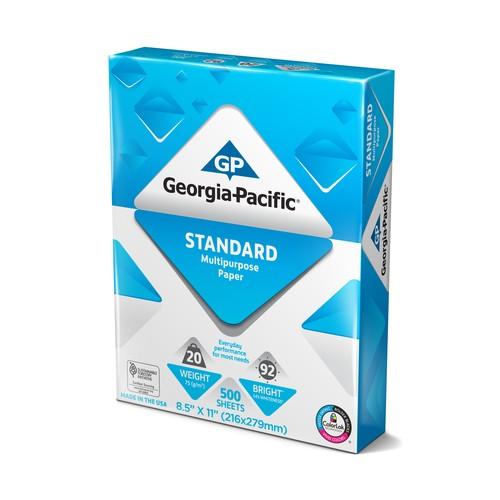 Georgia-Pacific 20268711-1 Standard Multipurpose Paper, 8.5