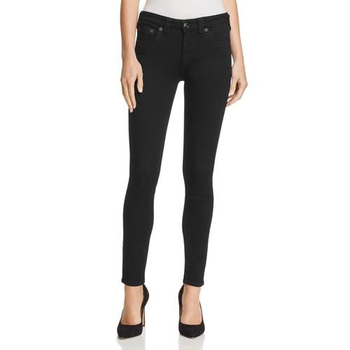 Jennie Curvy Skinny Jeans in Way Back Black