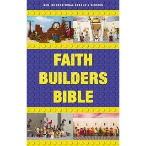 Holy Bible: New International Reader's Version, Faith Builders Bible (Hardcover)