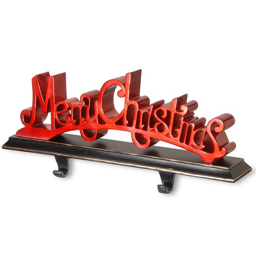 Merry Christmas Holder Christmas Decoration - 18 inch
