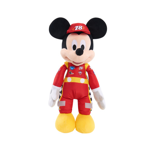 Disney Mickey Mouse Roadster Racers Musical Plush