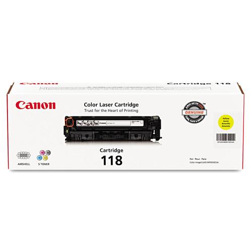 Canon CNM2659B001 2659B001 (118) Toner, Yellow