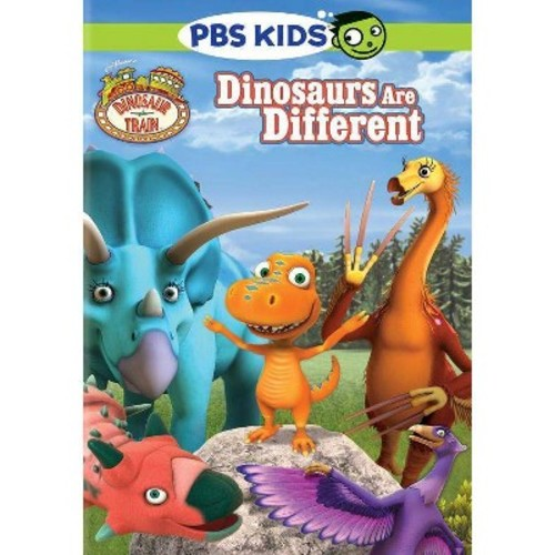 Dinosaur Train: Dinosaurs Are Different (DVD)