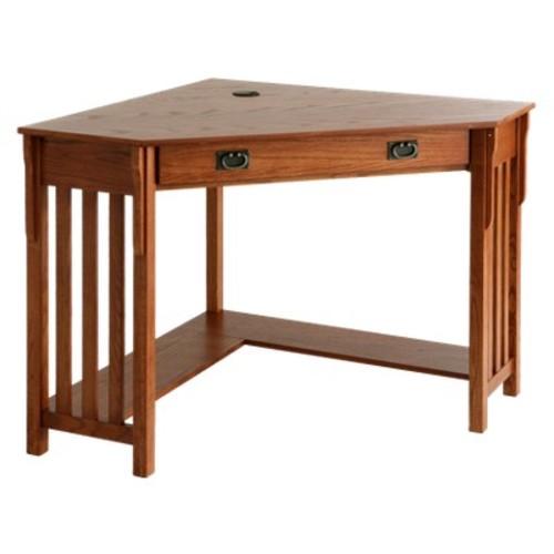 Southern Enterprises Mission Oak Desk