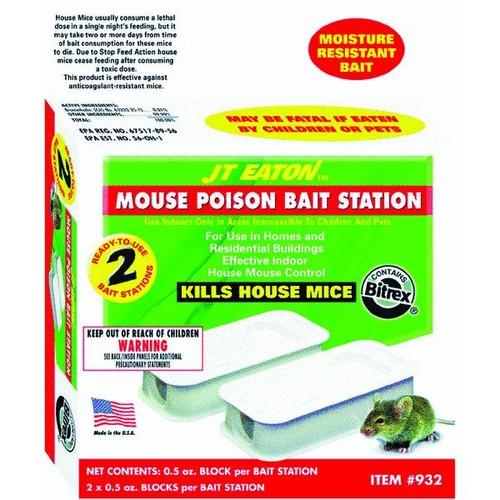 JT Eaton Disposable Mouse Bait Station - 932