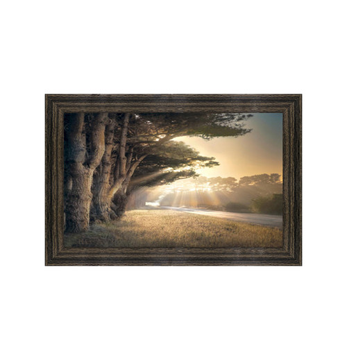 Framed Art - No Place to Fall by Willam Vanscoy