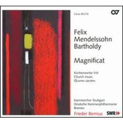 Felix Mendelssohn: Magnificat By Frieder Bernius (Super Audio CD (SACD))