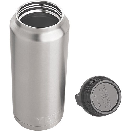 Yeti Stainless Steel Rambler Beverage Cooler  36-Oz. Capacity