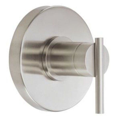 Danze Parma 1-Handle Valve Trim Kit in Brushed Nickel (Valve Not Included)