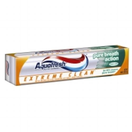 Aquafresh Extreme Clean Fluoride Toothpaste Fresh Mint