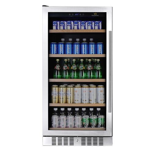 KingsBottle KBU-270B 334 Can Beverage Fridge