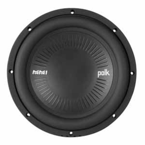 Polk Audio MM1 Series 10 Single Voice Coil Subwoofer with Ultra-Marine Certification