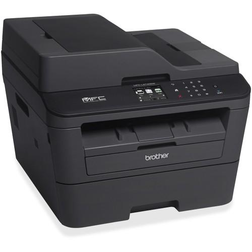 Brother MFC-L2740DW Laser Multifunction Printer - Monochrome - Plain Paper Print - Desktop