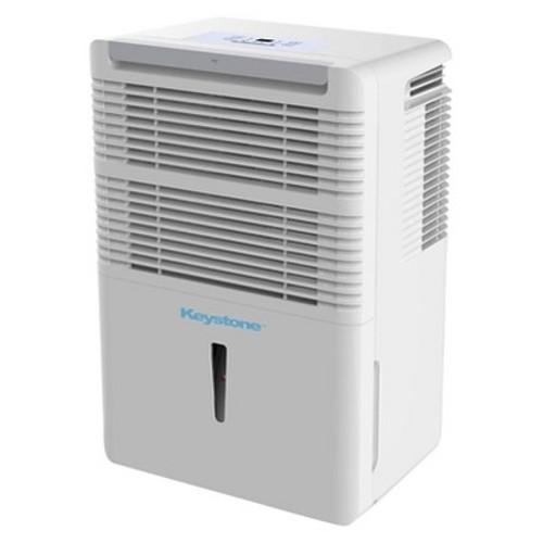 Keystone - 70 Pint Dehumidifier - White