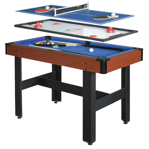 Hathaway Triad 48-in 3-in-1 Multi-Game Table