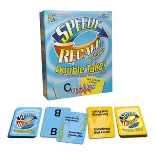 Maranda Enterprises Speedy Recall Double Take Card Game