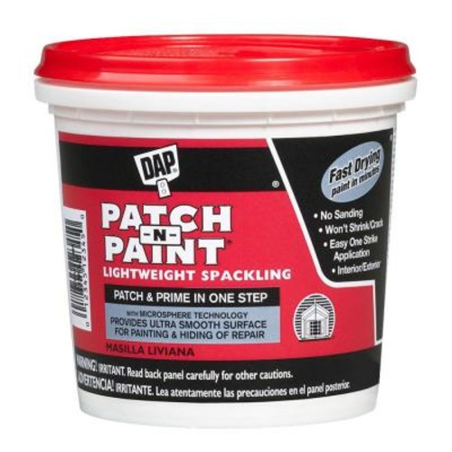 DAP Patch-N-Paint 1 gal. White Lightweight Spackling (2-Pack)
