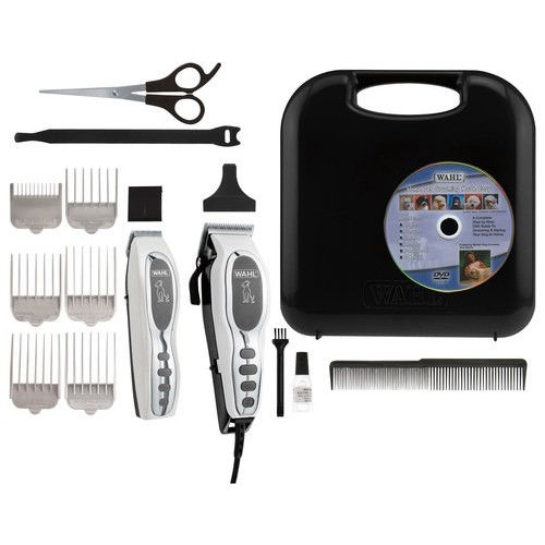 Wahl Pet-Pro Dog Clipper and Trimmer Pet Grooming Combo Kit for Dog, Cat with Rechargeable Clipper and Battery Trimmer, by The Brand Used By Professionals. #9284