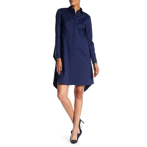 Brielle Crisscross Shirtdress